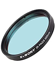 SVBONY SV183 Telescope Filter, IR Pass Filter, 2 Inch 685nm Reduce The Effects of Seeing for Planetary Photography Contrast Enhancement