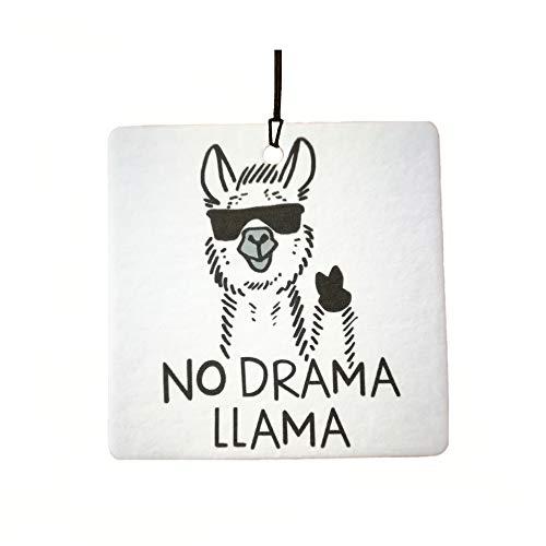 No Drama Llama Car Air Freshener
