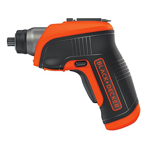 BLACK+DECKER 4V MAX Cordless Screwdriver with LED Light -