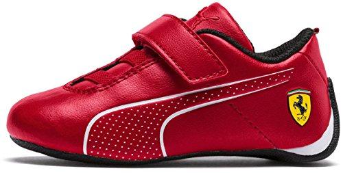88e6b4adf8 PUMA Unisex Kids Ferrari Future Cat Ultra Velcro Kids Sneaker