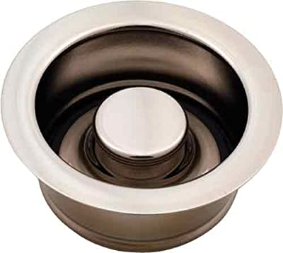 Jaclo 2815-SN Garbage Disposal Flange with Stopper, Satin Nickel