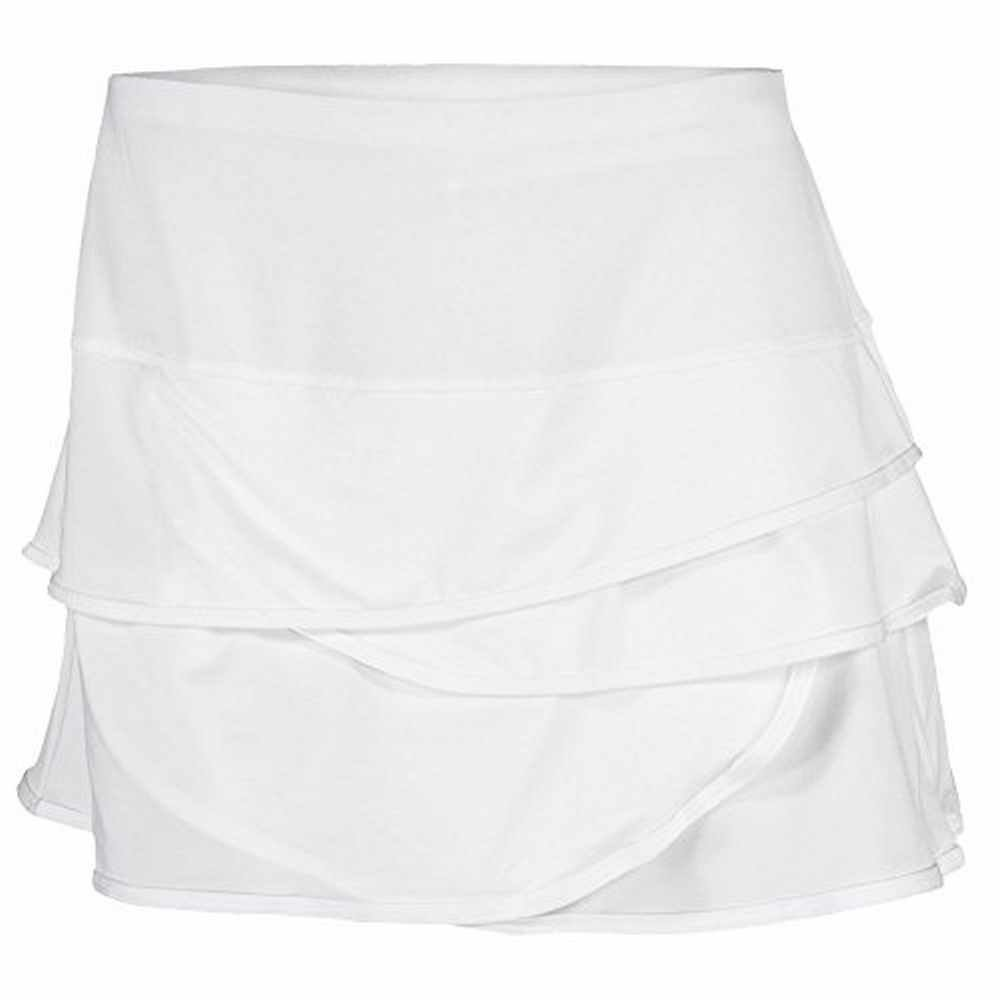 Lucky In Love Scallop Skirt-Small-White