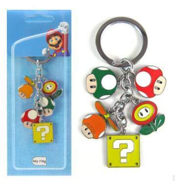 Juego Super Mario Bros Llavero Moda Novedad Divertido 5 ...