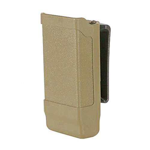 BLACKHAWK! Single Stack Mag Case Matte Finish for 9 mm, 10mm, .40 Cal, and .45 Cal, Coyote Tan