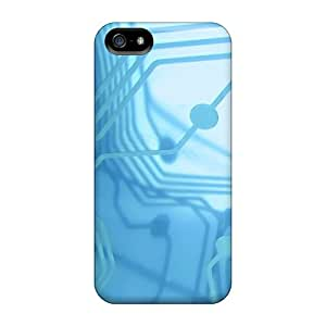Snap On Hard Cases Covers Circuits Protector For Iphone 5/5s