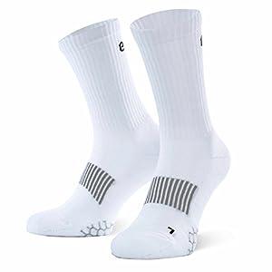Eono Essentials Calzini Sportivi, Performance Sport Socks da Uomo e da Donna (da 3 Pezzi), Tennis, Basket, Fitness, Uso… 5 spesavip