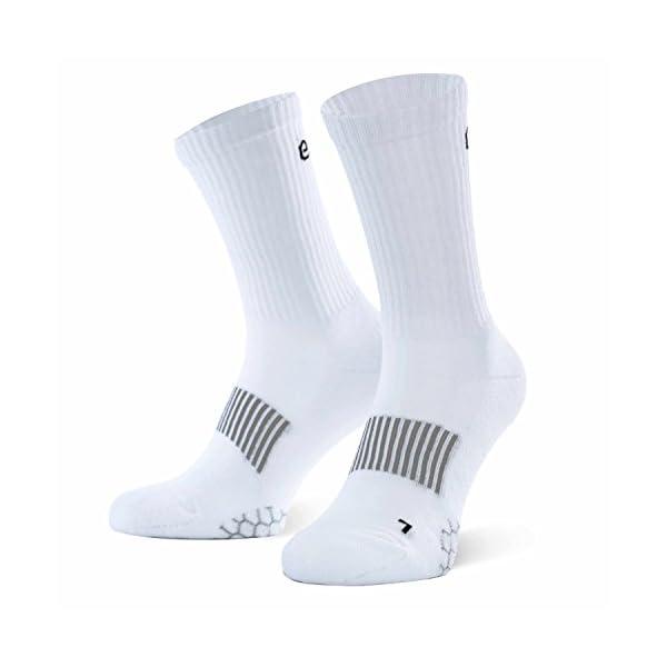 Eono Essentials Calzini Sportivi, Performance Sport Socks da Uomo e da Donna (da 3 Pezzi), Tennis, Basket, Fitness, Uso… 1 spesavip