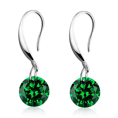 Endicot Women Multicolor Crystal Rhinestone Drop Dangle Hook Earrings Wedding Jewelry | Model ERRNGS - 16864 |