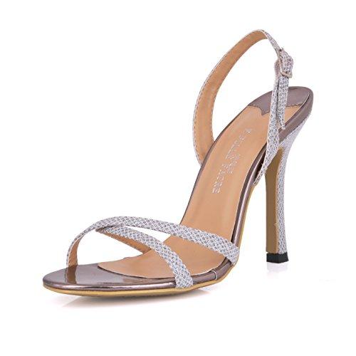 Para Mayor Gold Femenino Alto Discotecas Y Mostrar Desglose Sandalias Tacón Temperamento Zapatos De Mujer Los aqwCwzx8