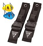 Kayak Hanger Straps Double Seattle Sports Keeperz 2-up Kayak Wall Strap Storage