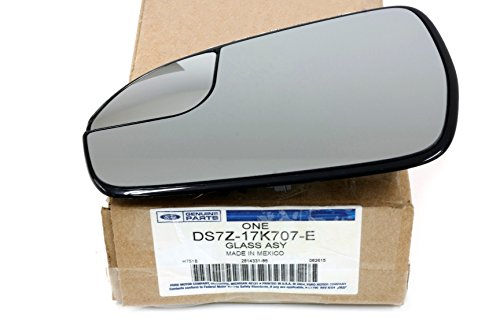 - 2013 2014 2015 Ford Fusion Left Driver Side View Power Mirror Glass OEM