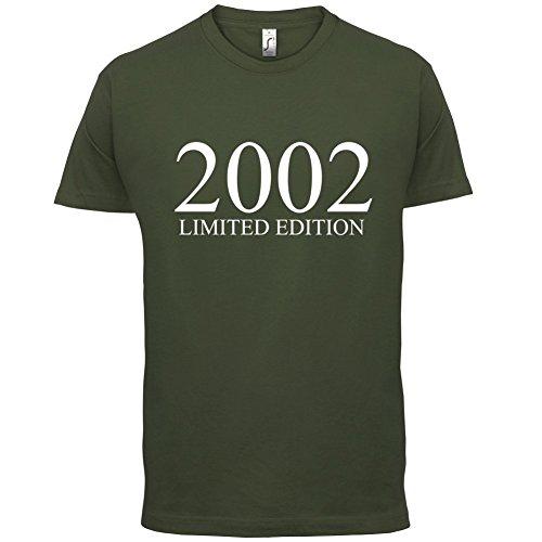 2002 Limierte Auflage / Limited Edition - 15. Geburtstag - Herren T-Shirt - Olivgrün - M