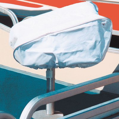 Free Taylor Made Products White Vinyl Folding Boat Seat Cover 40220