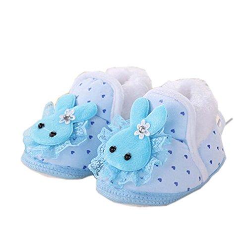 Chaussons unisexe doux et chauds pour bébés Chaussures pour bébés, E