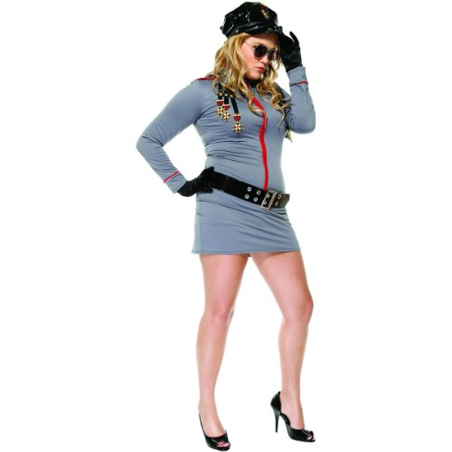 (General Glam Adult Costume - Plus Size)