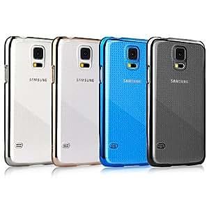 GX Serie Glimmer cubierta posterior para Samsung Galaxy S5 , Silver