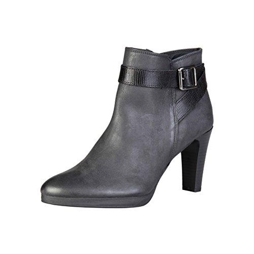 8 5 Women's 7129K736 Black Pierre Boots Cardin cm Heel Leather xCq0xpYnw5
