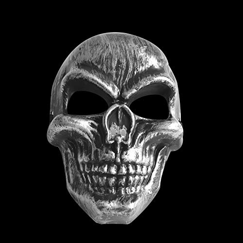 Takefuns Halloween Masquerade Mask, Human Skeleton Mask with Elastic Band Cool Spooky Party Ghost Cosplay Mask for Halloween Party CS Helmet ()