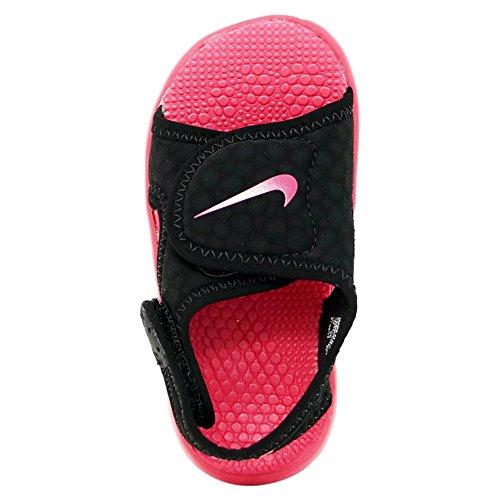 Nike Kids Sunray Regolare 4 Sandali Bambino Nero / Rosa Rush