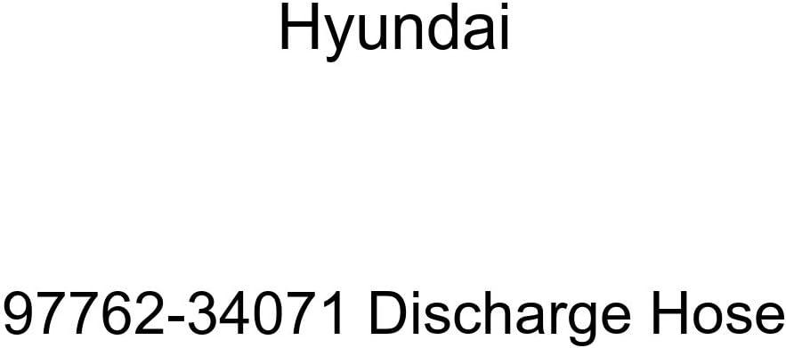 Genuine Hyundai 97762-34071 Discharge Hose