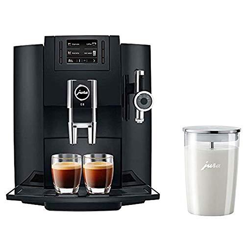 Jura E8 Coffee & Beverage Center Bundle Set With Milk Container