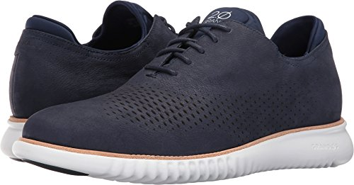 (Cole Haan Men's 2.Zerogrand Laser Wing Oxford Marine Blue Nubuck/Optic White 9.5 D US)