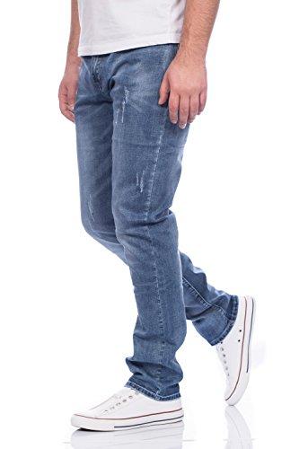 Herren Jeans Hose Straight Fit ID297