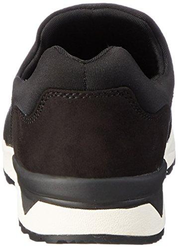 Tamaris Women's 24600 Loafers, Schwarz (SIL.Str./Black 922), 5 UK Black (Sil.str./Black 922)