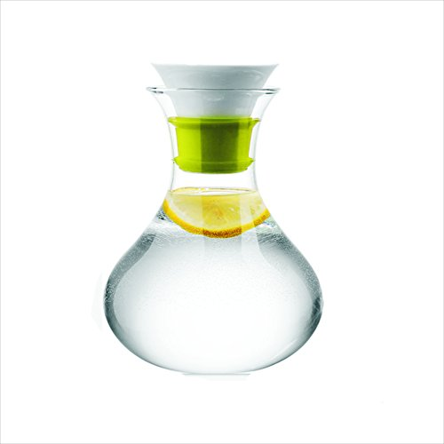 Stylish Glass Pitcher 34 oz/1000 ml with Removable