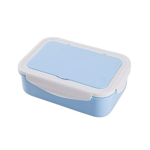 Zihuist Bento Box Microondas Lonchera con 3 Compartimentos ...