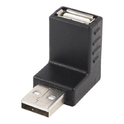 3 opinioni per SODIAL (R) Adattatore connettoread a angolo retto nero USB 2.0 Tipo A maschio a