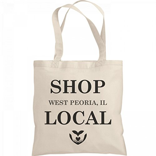 Shop Local West Peoria, IL: Liberty Bargain Tote - Peoria Shopping