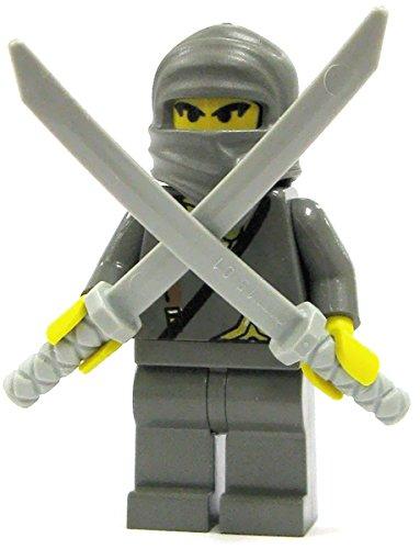 Amazon.com: Lego Ninja Gray Ninja Minifigure: Toys & Games