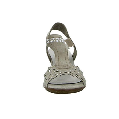 Alyssa L51712P Damen Sandalette Grau (Grau)