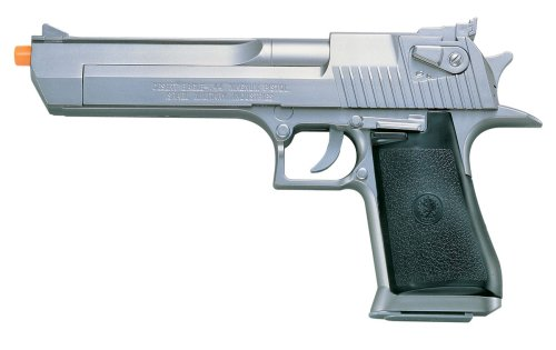 Soft Air Desert Eagle .44 Magnum Spring Powered Airsoft Pistol (Silver) (Spring Mp5)