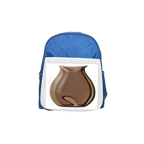 The Image IS A Vase with a Back Image of a cat. It Looks a little Bit glossy. So I uploaded it for the DS 18. Printed Kid 's Blue Backpack, Cute de mochilas, Cute Small de mochilas, Cute Black Backpack, co