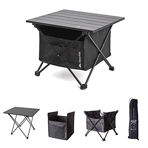 Draagbare en afneembare opvouwbare camping picknick tafel tuin outdoor licht camping tafel en stoel met opbergtas…