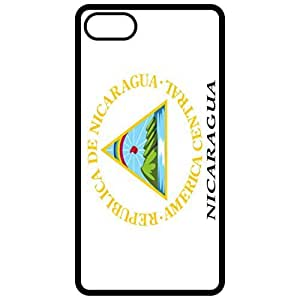 Nicaragua Coat Of Arms Flag Emblem Black Apple Iphone 6 (4.7 Inch) Cell Phone Case - Cover
