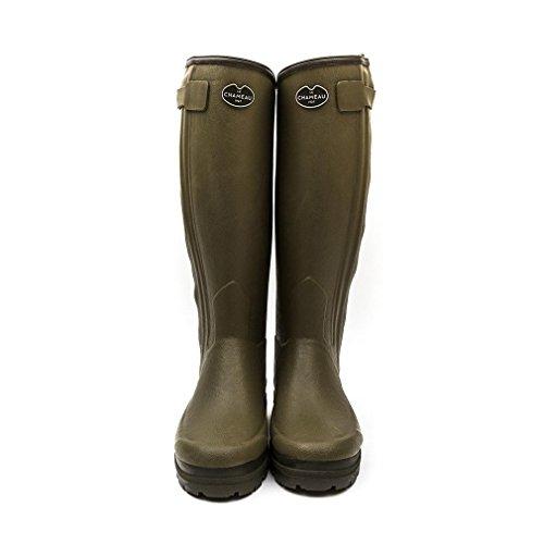 Le Calf Ladies UK6 Green Chasseur EU40 5 Wellington Boot Neo 5 Chameau US8 38 qfq6na