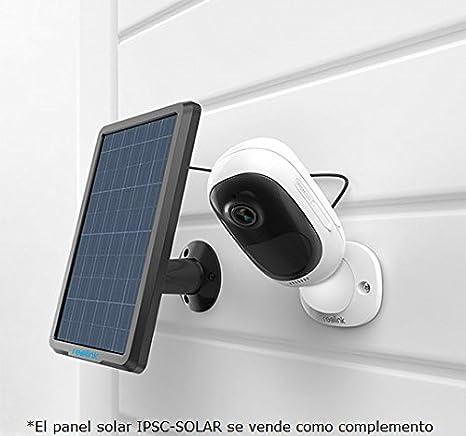 Camara IP WiFi 100% inalámbrica (con batería recargable) FullHD 1080p, visión nocturna y detección de movimiento PIR, para interior o EXTERIOR: Amazon.es: ...