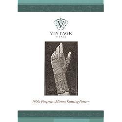 Vintage Victorian Fingerlass gloves, mittens, knitting pattern