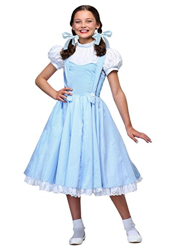 Deluxe Kansas Girl Kids Costume Medium