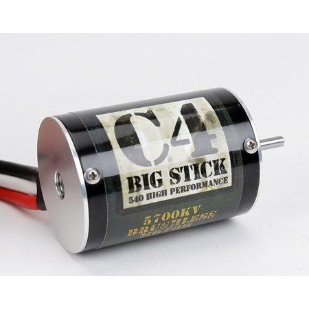 UPC 605482312452, C4 Big Stick Brushless 540 Motor, 5700Kv