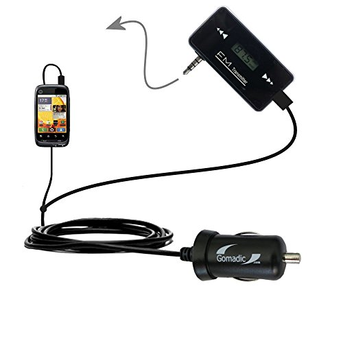 Wireless New Generation Fm Transmitter Desinged For Motorola Ciena With Powerful Compact Car Charger Included