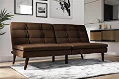 This Premium Westbury futon captures all the style and practicality of the mid-century with a look that's perfect for any of today's homes. We've taken the traditional futon design and layered it with an ultra-soft pillow top for comfort that...