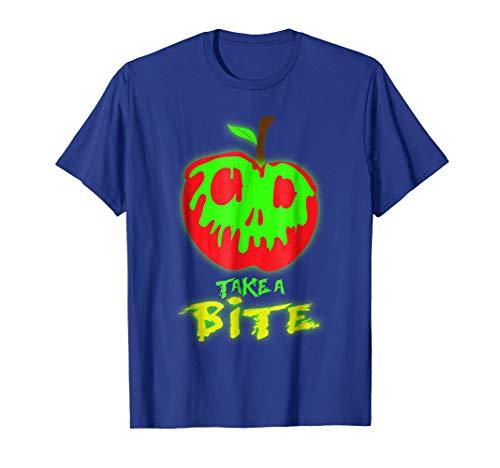 Take A Bite Of Poison'd Apple Halloween Tshirt ()