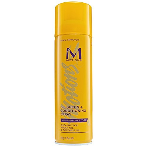 Motions Oil Sheen and Conditioning Spray, 11.25 - Sheen Motions Spray Oil