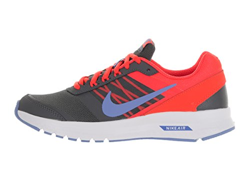 Nike Wmns Air Relentless 5, Zapatillas para Mujer, Gris (Drk Gry / Chlk Bl Brght Crmsn Wh), 40 EU