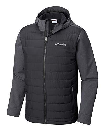 Columbia Men's Oyanta Trail Hybrid Hooded Puffer Jacket (L)