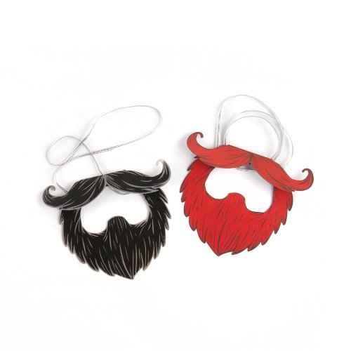 [GAMAGO Awesome Party Paper Beards] (Moustache Halloween)